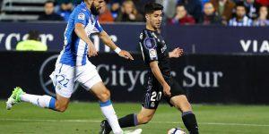 Siovas y Asensio, en el Leganés-Real Madrid de la 16/17.