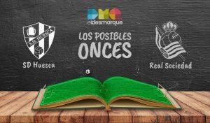 Posibles onces del Huesca-Real Sociedad.
