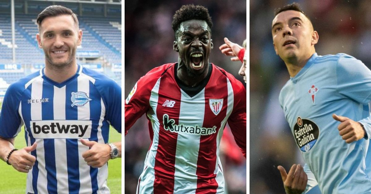 Alavés, Athletic y Celta.